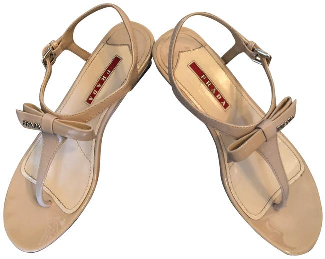 Item - Nude Linea Rossa Bow Demi-wedge Wedges Size EU 35.5 (Approx. US 5.5) Regular (M, B)