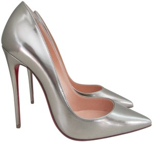 6008c6ff52f2 Women s Silver Christian Louboutin Shoes - Up to 90% off at Tradesy