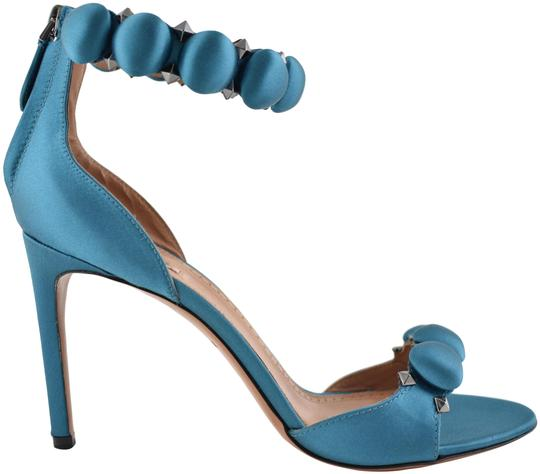 Preload https://img-static.tradesy.com/item/23651284/alaia-blue-90mm-canard-satin-studded-ankle-strap-sandal-heel-pumps-size-eu-375-approx-us-75-regular-0-1-540-540.jpg
