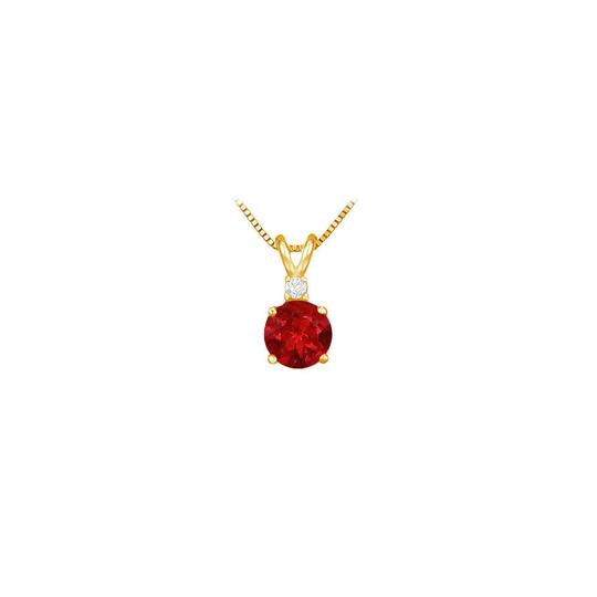 Preload https://img-static.tradesy.com/item/23651317/red-july-birthstone-ruby-round-pendant-with-cubic-zirconia-in-gold-vermeil-necklace-0-0-540-540.jpg
