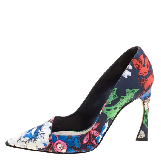 Dior Multicolor Pumps