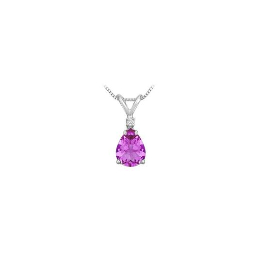 Preload https://img-static.tradesy.com/item/23651583/purple-february-birthstone-amethyst-teardrop-pendant-with-cubic-zirconia-in-9-necklace-0-0-540-540.jpg