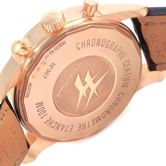 Breitling Breitling Transocean Chronograph Unitime Rose Gold Watch RB0510
