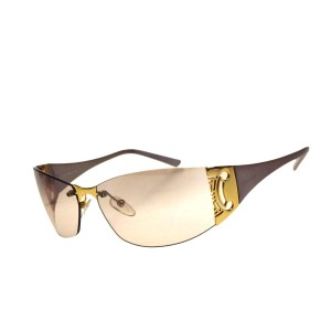 bb3c4a703426 Céline CELINE Logos Sunglasses Eye Wear Metal Plastic Gold Italy