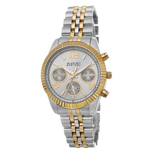 August Steiner August Steiner Women's Silver Stainless Steel Watch AS8103TTG