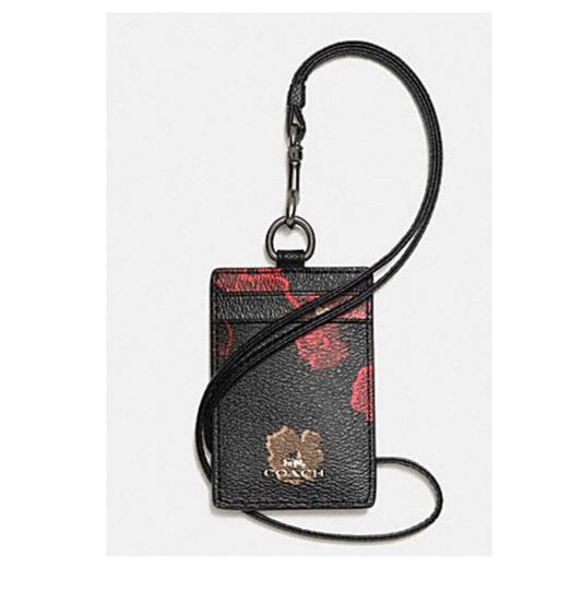 Preload https://item5.tradesy.com/images/coach-black-lanyard-id-in-halftone-floral-print-coated-canvas-63274-23651979-0-0.jpg?width=440&height=440