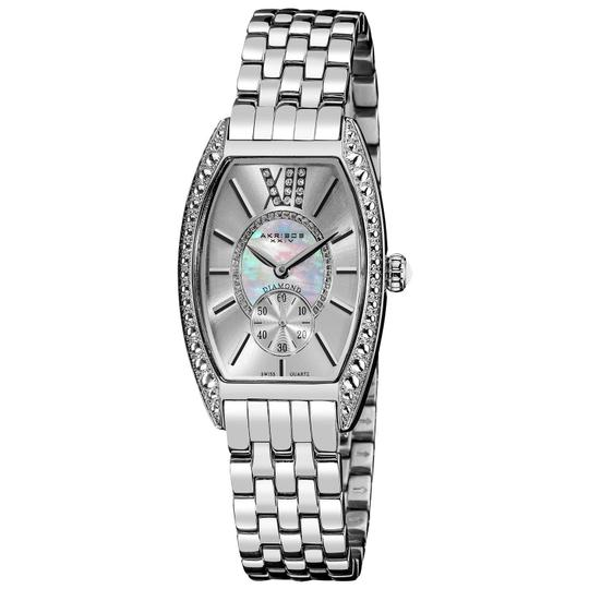 Preload https://item3.tradesy.com/images/akribos-xxiv-silver-women-s-impeccable-stainless-steel-ak470ss-watch-23652032-0-0.jpg?width=440&height=440