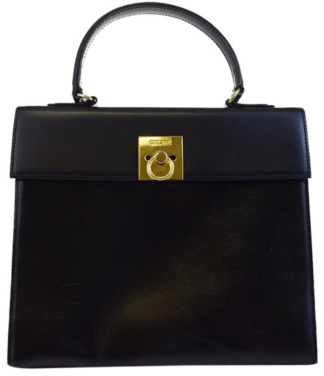 Preload https://item3.tradesy.com/images/celine-logos-single-flap-hand-gold-italy-black-leather-tote-23652052-0-1.jpg?width=440&height=440