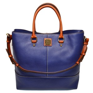 Dooney & Bourke Shopper Dillen Leather Chelsea Tote in Ocean Blue