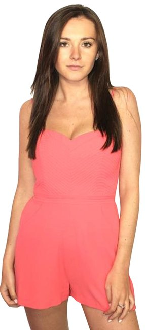Preload https://item5.tradesy.com/images/parker-salmon-pink-small-new-with-tags-short-romperjumpsuit-size-4-s-23652249-0-1.jpg?width=400&height=650