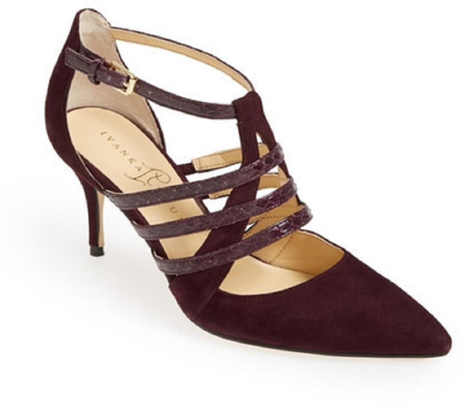 woman Ivanka Trump Burgundy Tellas quality Pumps quality Tellas f9aa56