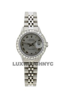 Rolex 1.4ct 26mm Datejust Ss with Box and Appraisal Watch