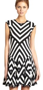 RVN short dress black & white on Tradesy