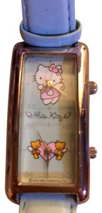 Authentic Japan Sanrio Hello Kitty Vivitix Genuine Leather Band Watch