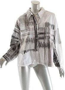 Babette Made In Usa Top Black, white, grey