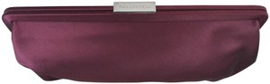 Tiffany & Co. Co Handbag Silver Jewelry Burgundy Clutch