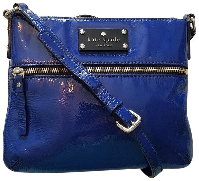 Item - Flicker Tenely Royal Blue Patent Leather Cross Body Bag