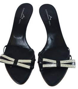 ALEXANDER NEEL BLACK/WHITE Sandals