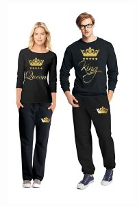e99823158e3c Black and Gold New Pajama Set For Men Women His Hers Matching Pjs King  Queen Other