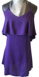 Blu Moon short dress purple on Tradesy