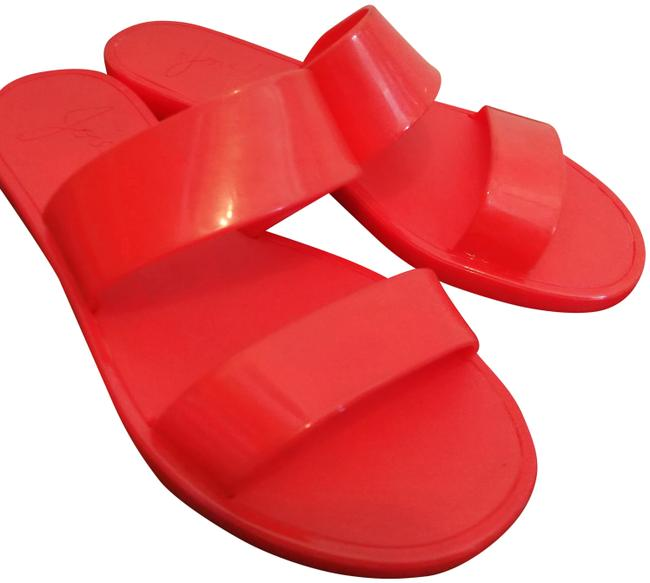 Item - Orange Laila Rubber Mules/Slides Size EU 35 (Approx. US 5) Regular (M, B)