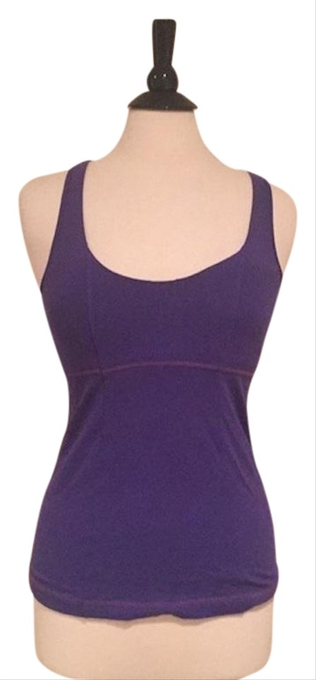 aa1fe6096473da Lululemon Purple Shelf Bra Activewear Top Size 6 (S) - Tradesy