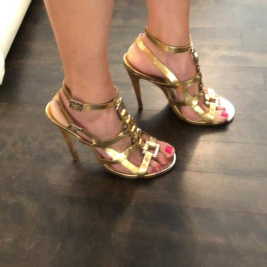 Tory Burch gold and silver Sandals Image 1