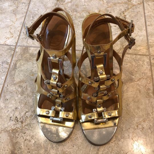 Tory Burch gold and silver Sandals Image 2