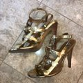 Tory Burch gold and silver Sandals Image 3