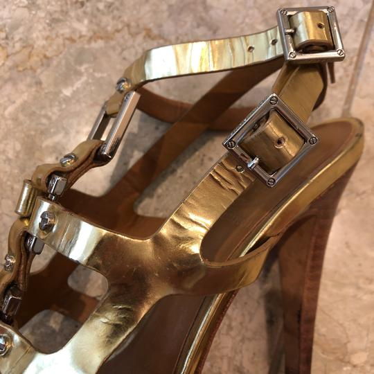 Tory Burch gold and silver Sandals Image 5
