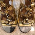 Tory Burch gold and silver Sandals Image 6