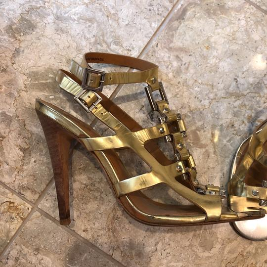 Tory Burch gold and silver Sandals Image 7