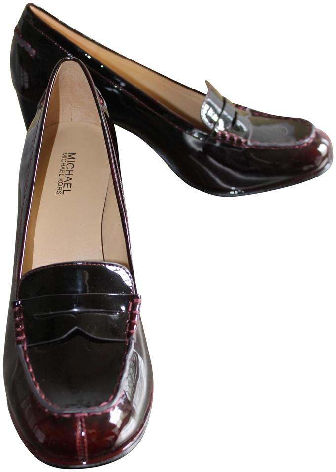 fc14201062a Michael Kors Deep Red Patent Bayville Loafer Formal Shoes. Size  EU ...