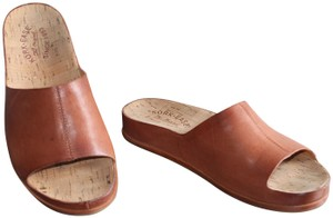 Kork-Ease Classic Understated Leather Brown/Copper Mules