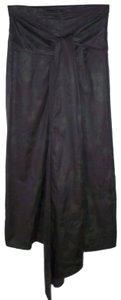 Lilith Bow Pencil Printed Maxi Skirt