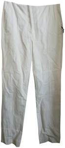 Lemaire Straight Pants White