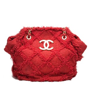 Chanel Beach Limited Edition Tote in Red