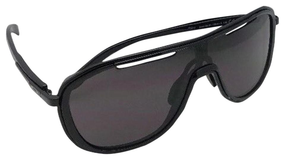 567bf5356c ... italy oakley new oakley sunglasses outpace oo4133 01 black ink black  frame w grey ddeb6 ade8b