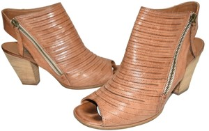 Paul Green Bootie Wedge CUOIO BROWN Sandals