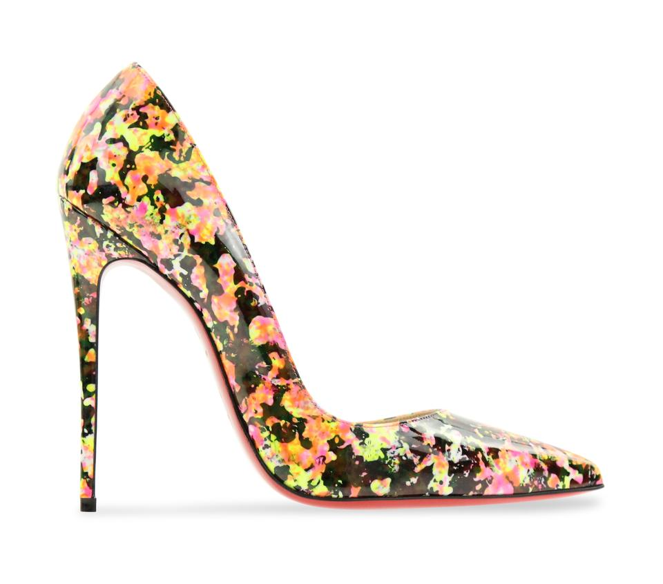 5d450c001ad1 Christian Louboutin Red Sole With Box Pointed Toe 120mm Multicolor Pumps  Image 0 ...