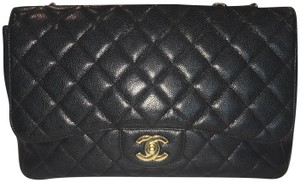 21e822e79d4789 Chanel Caviar Leather Gold Chain Gold Hardware Shoulder Bag · Chanel. Quilted  Jumbo Woman Purse Great Conditio Black ...