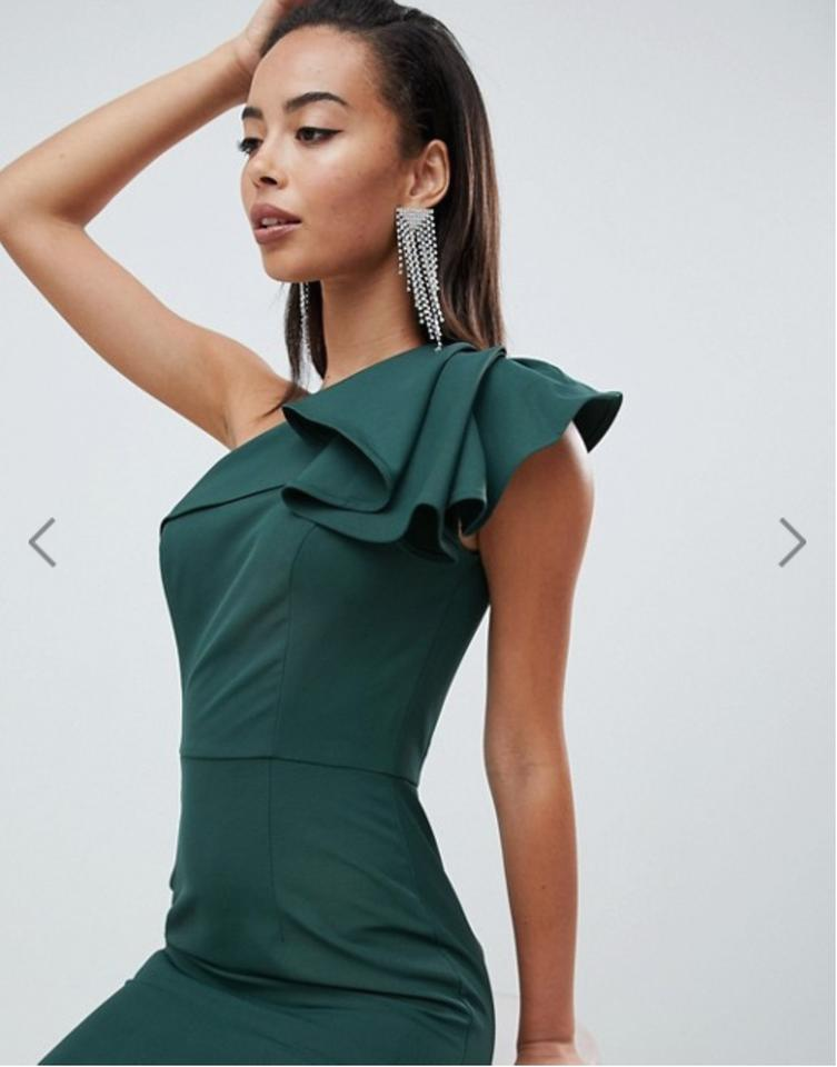 0fa734610e59 Green One Shoulder Evening Gown Formal Dress 3