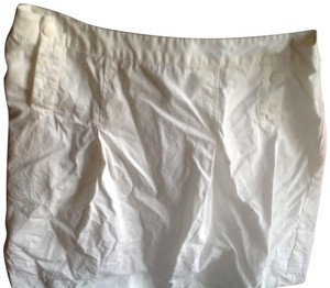 Babjades Banana Republic Nautical Like New Skirt White