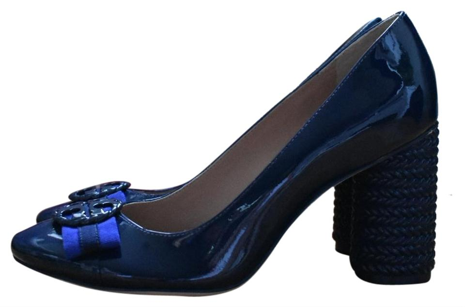 13479580bb12 Tory Burch Isle Ropes   Navy Sea 38725 Pumps Size US 6.5 Regular (M ...