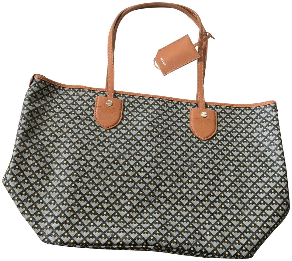 Bally Rare Bernina Tan Coated Canvas Tote - Tradesy b7aed51ae9012