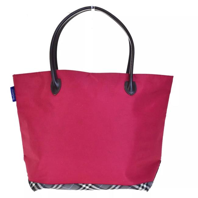 Item - Blue Label Pink Canvas Tote