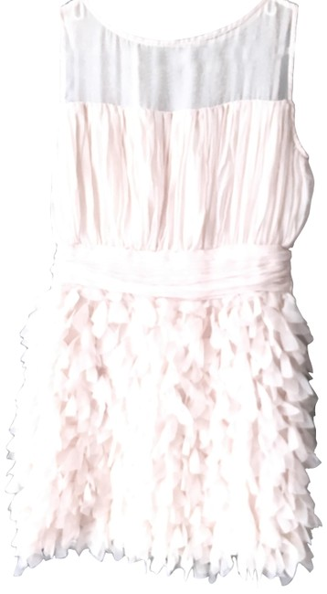 Preload https://img-static.tradesy.com/item/23656686/nude-feather-short-cocktail-dress-size-4-s-0-1-650-650.jpg