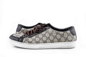 Gucci Brown Brooklyn Gg Canvas Sneaker Shoes