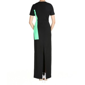 Black,Green Maxi Dress by Roksanda Ilincic