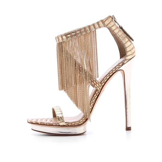 B Brian Atwood gold Formal Image 1